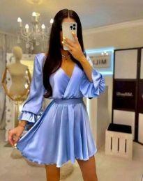 Obleka - koda 9899 - svetlo modra