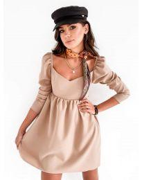 Obleka - koda 390 - bež
