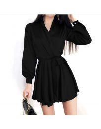 Obleka - koda 8754 - črna