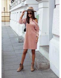 Obleka - koda 8171 - roza