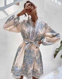 Obleka - koda 4753 - večbarvna