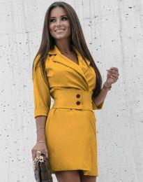 Obleka - koda 1357 - gorčica