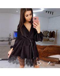 Obleka - koda 3738 - črna