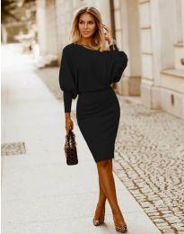 Obleka - koda 2242 - črna