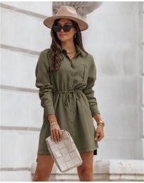 Obleka - koda 132 - olivna