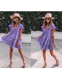 Obleka - koda 1155 - vijolična