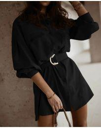 Obleka - koda 6461 - črna