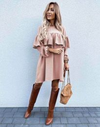 Obleka - koda 6913 - roza