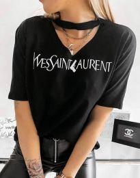 Majica - koda 4257 - črna
