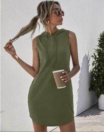 Obleka - koda 1687 - olivno zelena