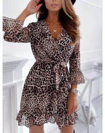 Obleka - koda 7677 - 3 - večbarvna