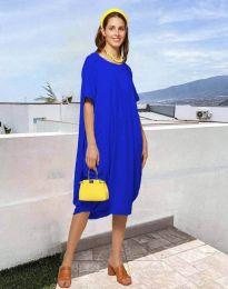 Obleka - koda 5554 - modra