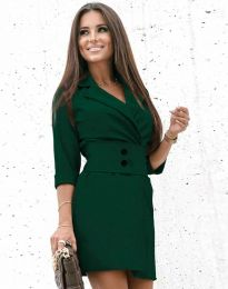 Obleka - koda 1357 - temno zelena
