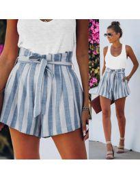 Kratke hlače - koda 9096 - svetlo modra