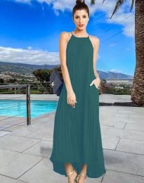 Obleka - koda 6999 - turkizna