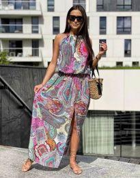 Obleka - koda 2674 -večbarvna
