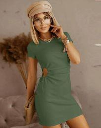 Obleka - koda 8556 - olivna