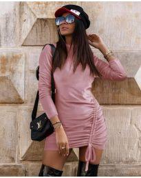 Obleka - koda 9545 - roza