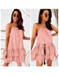 Obleka - koda 451 - roza