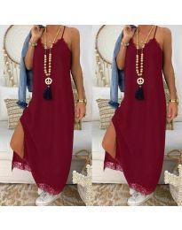 Obleka - koda 2575 - 1 - bordo