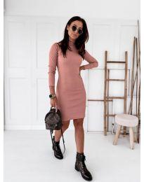 Obleka - koda 5696 - roza