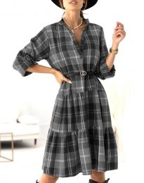 Obleka - koda 6842 - črna