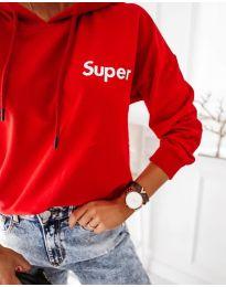 Bluza - koda 4000 - rdeča