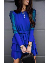 Obleka - koda 8384 - temno modra