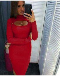 Obleka - koda 2144 - 9 - rdeča