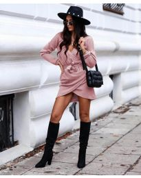 Obleka - koda 395 - roza