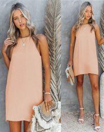 Obleka - koda 2169 - svetlo roza
