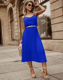 Obleka - koda 1249 - modra