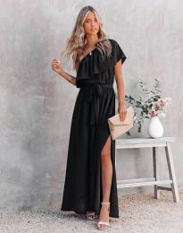 Obleka - koda 33511 - 2 - črna