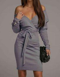 Obleka - koda 4765 - siva