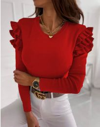 Bluza - koda 1653 - 1 - rdeča