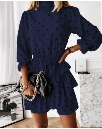 Obleka - koda 3665 - temno modra