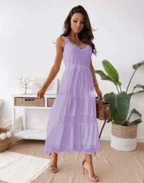 Obleka - koda 4672 - svetlo vijolična