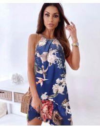 Obleka - koda 7027 - modra