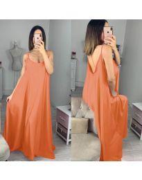 Obleka - koda 6600 - oranžna