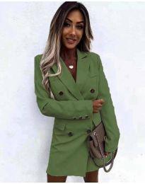 Obleka - koda 5889 olivno zelena