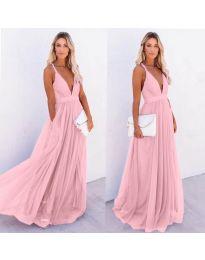 Obleka - koda 5587 - roza
