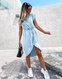 Obleka - koda 2074 - svetlo modra