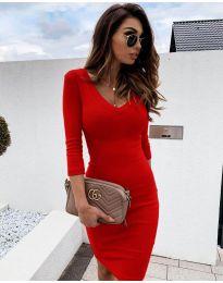 Obleka - koda 4040 - rdeča