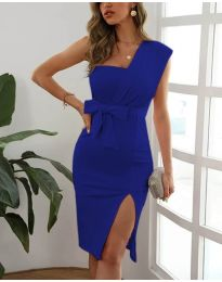 Obleka - koda 6153 - temno modra