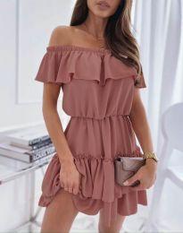 Obleka - koda 6777 - roza