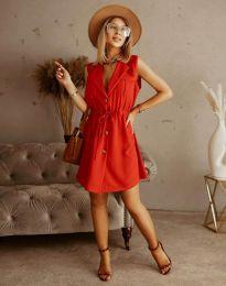 Obleka - koda 2702 - rdeča
