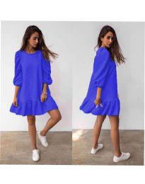 Obleka - koda 784 - modra
