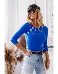 Bluza - koda 3151 - 2 - modra