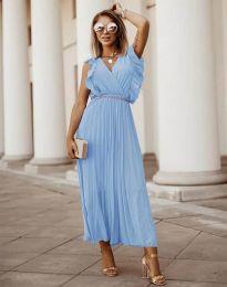 Obleka - koda 3320 - svetlo modra