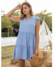 Obleka - koda 696 - svetlo modra